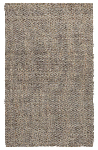 Coil Jute Rug in Natural & Silver by BD Home
