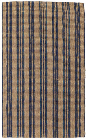 Seagrass Cabana Rug in Navy by BD Home