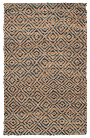 Artemis Rug in Natural & Sapphire by BD Home