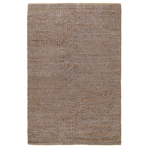Braided Jute Rug in Silver & Copper by BD Home