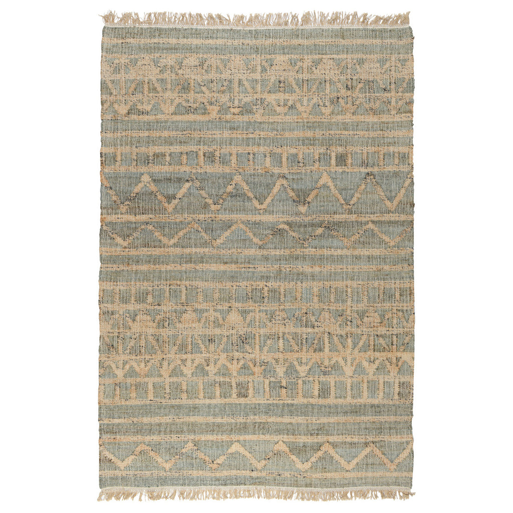 Kingston Distressed Rug in Ivory by BD Home