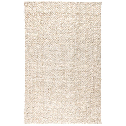 Herringbone Rug in Ivory by BD Home