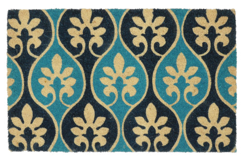 Cameron Doormat in Blues by BD Home