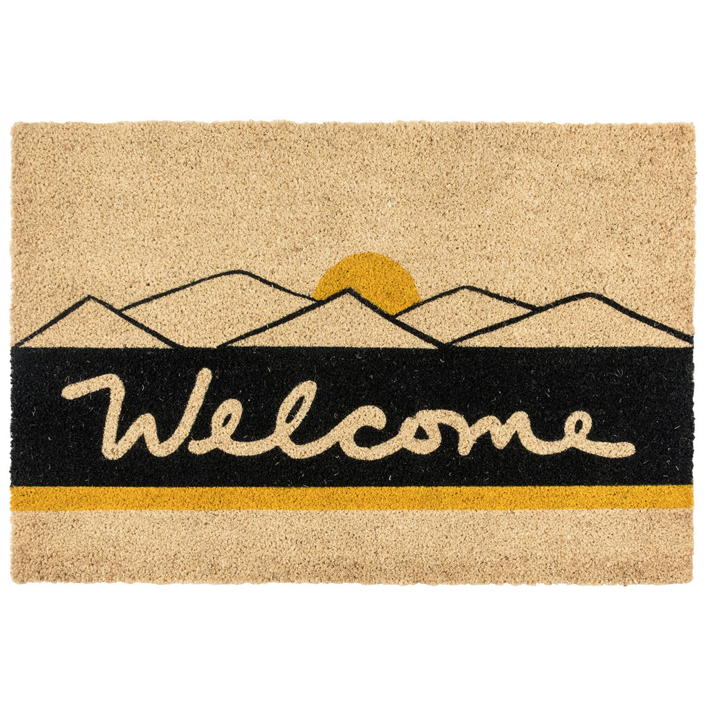 Desert Welcome Doormat by BD Home