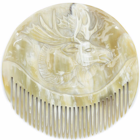 Moose Plaque Comb design by Siren Song