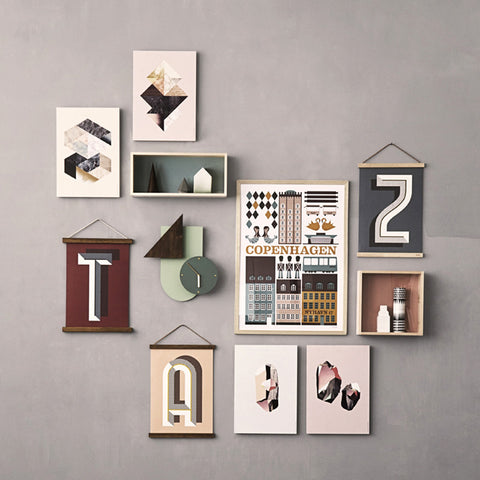 Wooden Frames design by Ferm Living