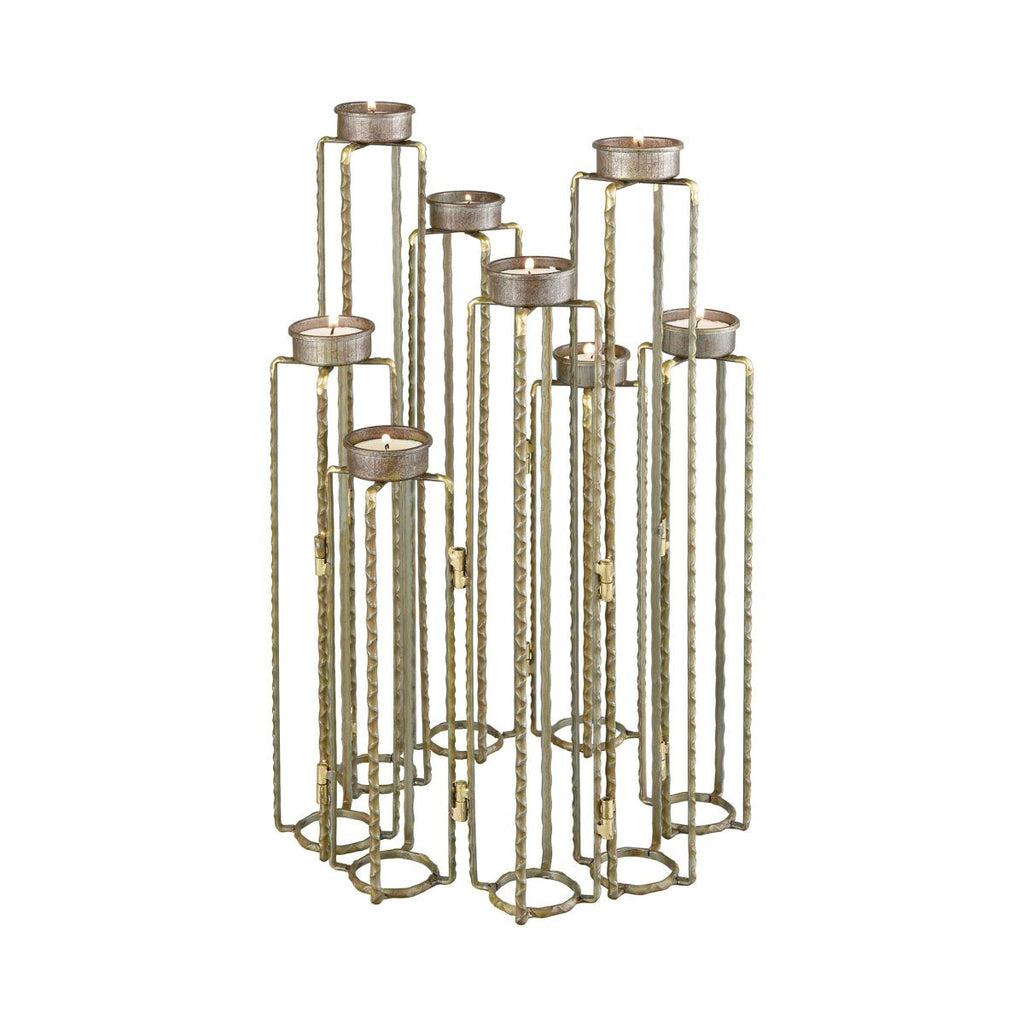 Ascencio Hinged Candle Holders design by Lazy Susan