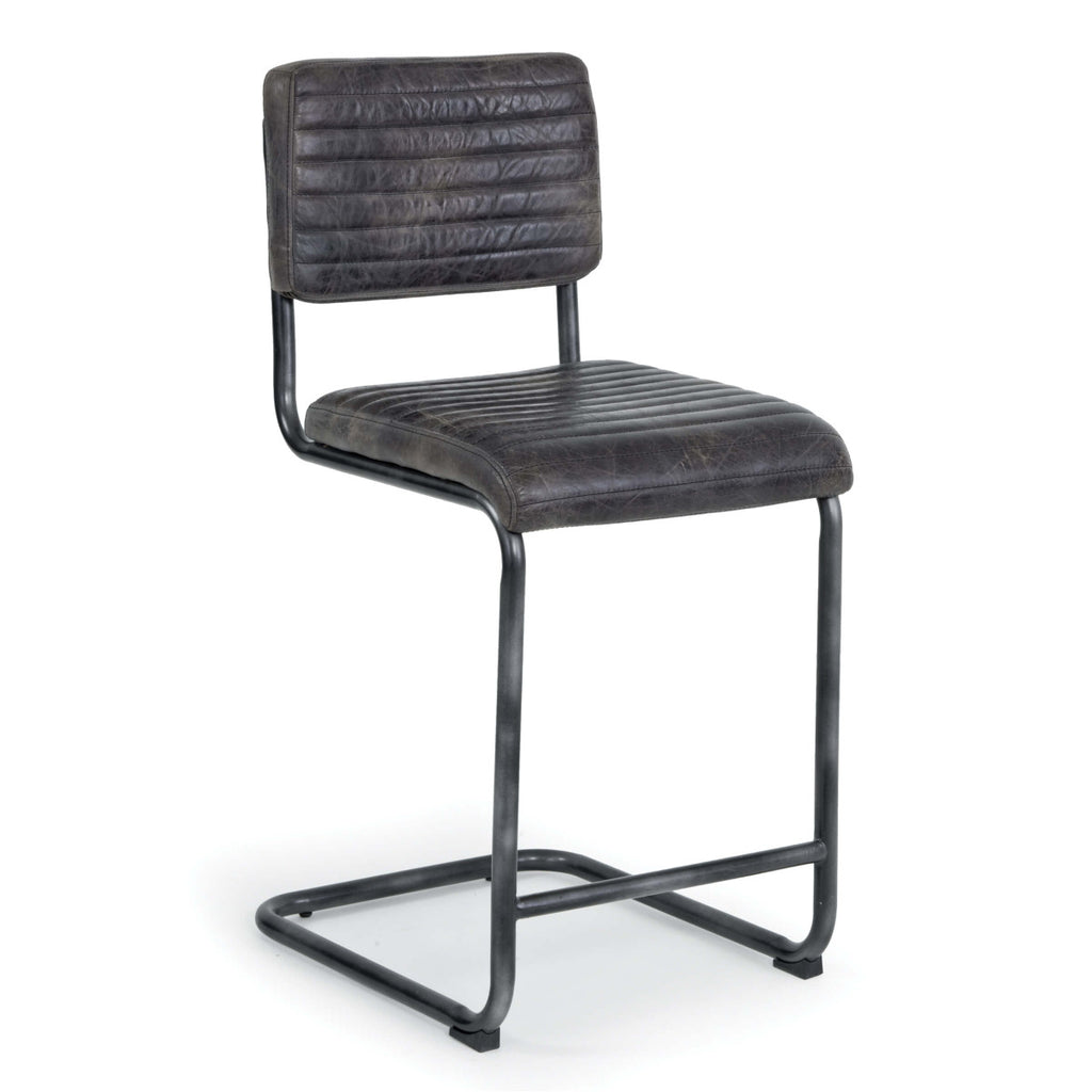 Set of 2 Dylan Counter Stool in Ebony design by Regina Andrew