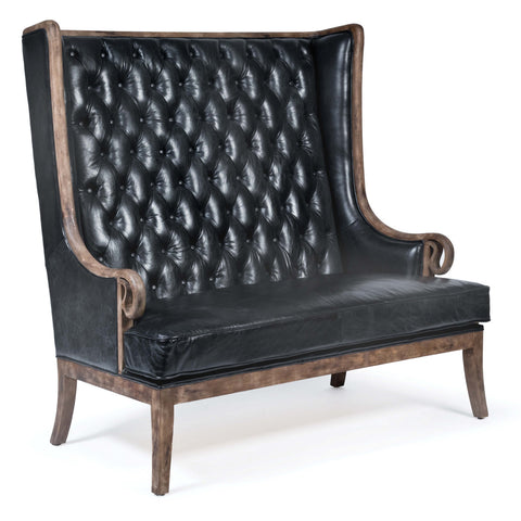 Tufted Settee design by Regina Andrew