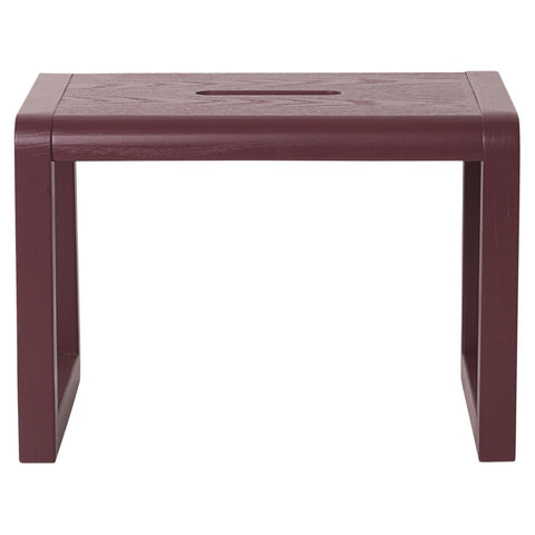 Little Architect Stool in Bordeaux by Ferm Living