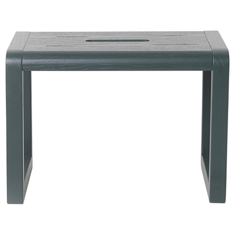 Little Architect Stool in Dark Green by Ferm Living