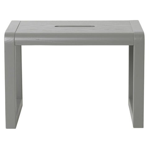 Little Architect Stool in Grey by Ferm Living