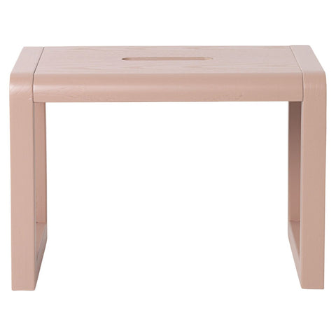 Little Architect Stool in Rose design by Ferm Living