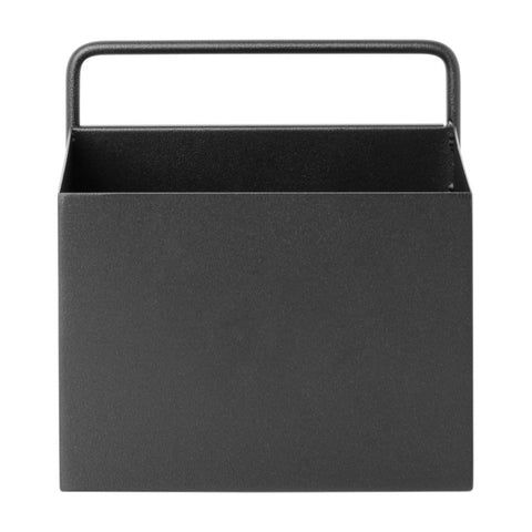 Square Wall Box in Black design by Ferm Living