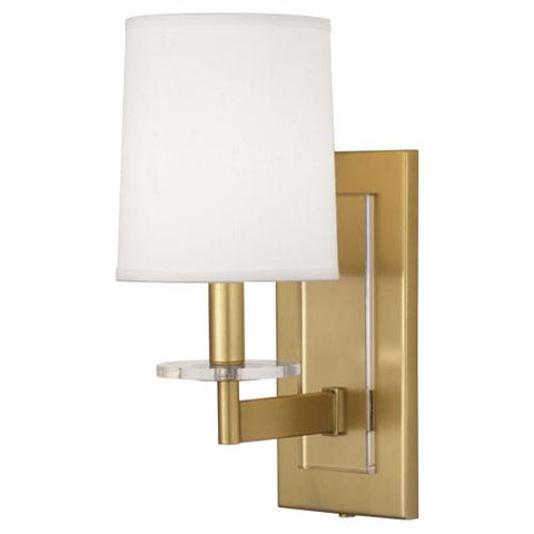 Alice On-Off Rocker Single Sconce by Robert Abbey