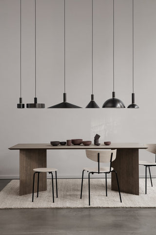 Disc Shade in Black Brass by Ferm Living