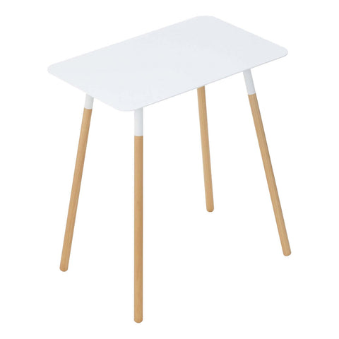 Plain Small Rectangular Side Table in Various Colors