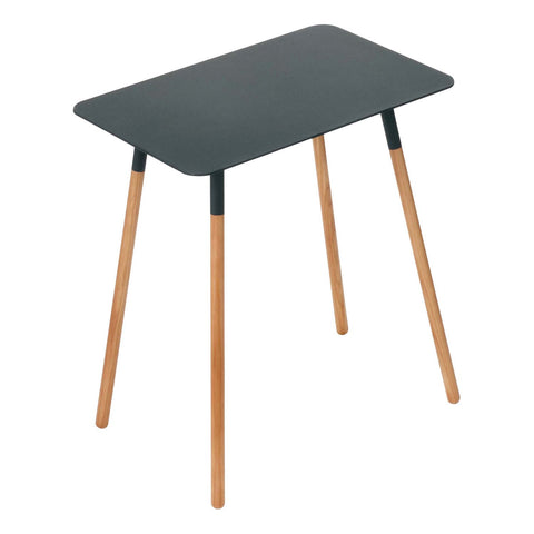 Plain Small Rectangular Side Table by Yamazaki