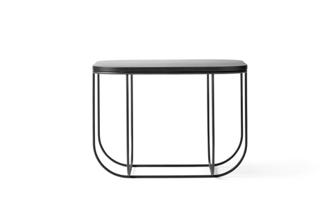 Cage Table in Black & Dark Ash design by Menu