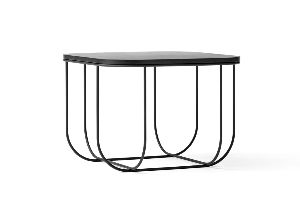 Cage Table in Black & Dark Ash in multiple sizes by Menu