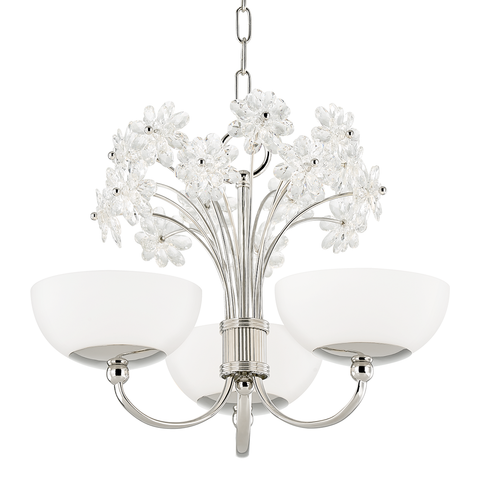 Beaumont 3 Light Chandelier by Hudson Valley