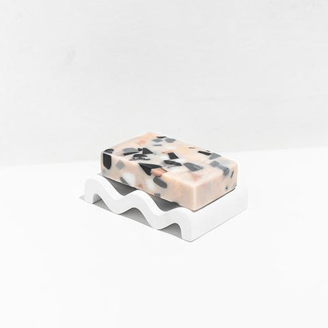 Absolute Terrazzo Soap in Sage & Driftwood design by Fazeek