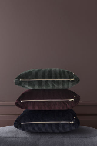 Corduroy Cushion in Green design by Ferm Living