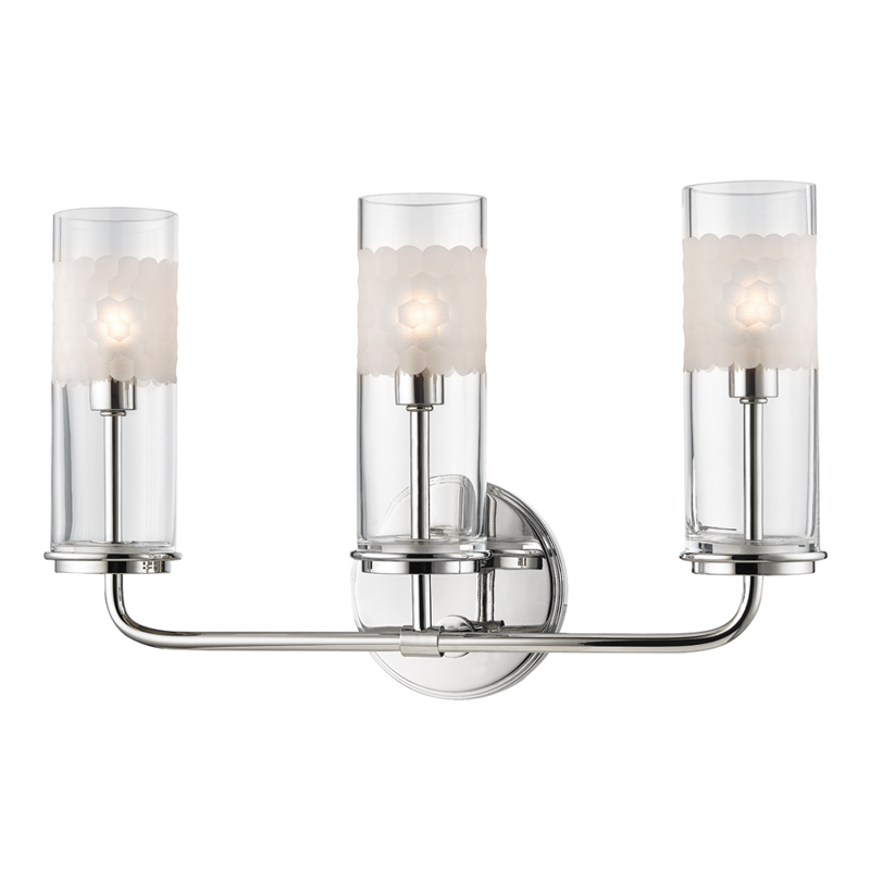 Wentworth 3 Light Wall Sconce by Hudson Valley Lighting