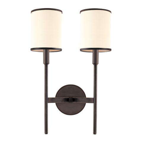Aberdeen 2 Light Wall Sconce by Hudson Valley Lighting
