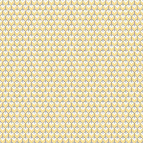 3D Petite Hexagons Peel Stick Wallpaper in Yellow by RoomMates for York Wallcoverings 425b5bce 82af 4928 aba6 cdf70b2f94db large