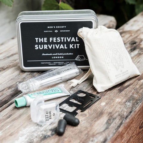 The Festival Survival Kit design by Men's Society