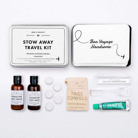 Stow Away Travel Kit design by Men's Society