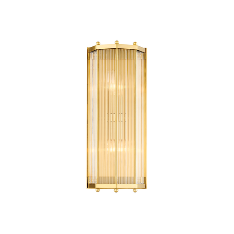 Wembley 2 Light Wall Sconce by Hudson Valley