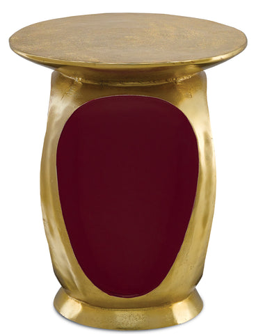Malmo Gold Accent Table