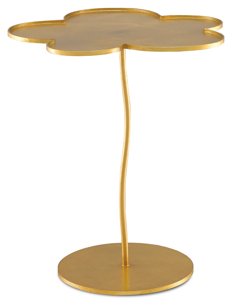 Fleur Small Accent Table design by Currey & Company