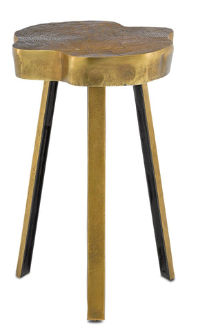 Mambo Brass Accent Table in Various Colors & Sizes Flatshot Image