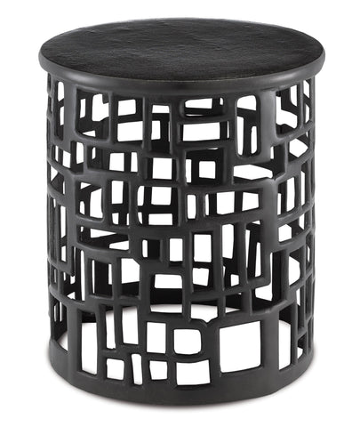 Wasi Black Accent Table in Various Colors Flatshot Image