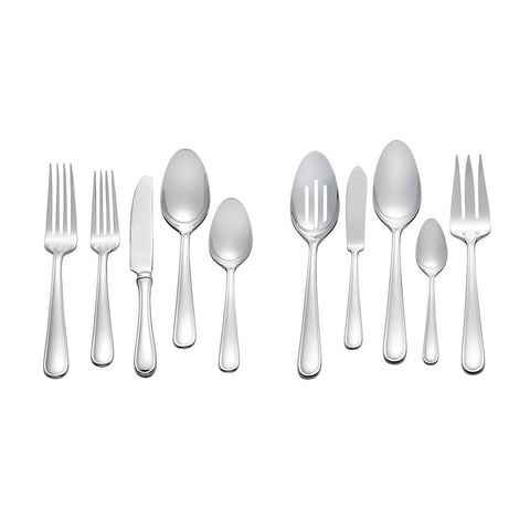 Cushion Stainless Steel 45-Piece Set by Vera Wang