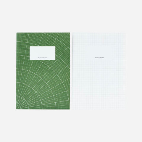 Linies Notebook, Angora Green