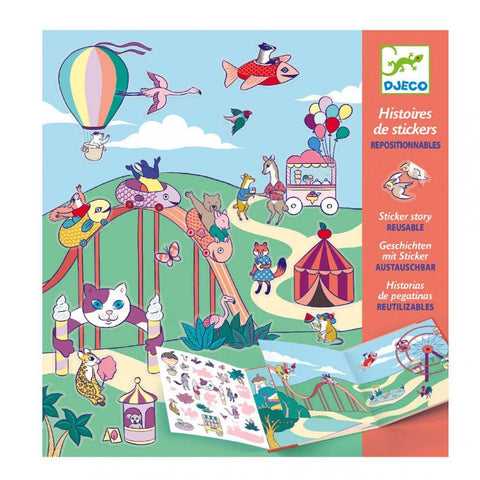 Petit Gift Sticker Stories The Fun Fair