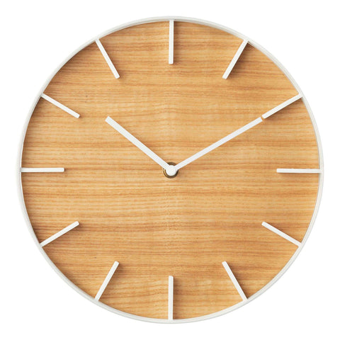 Rin Wall Clock in Various Colors and Finishes