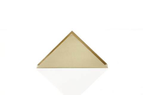 Brass Triangle Stand design by Ferm Living