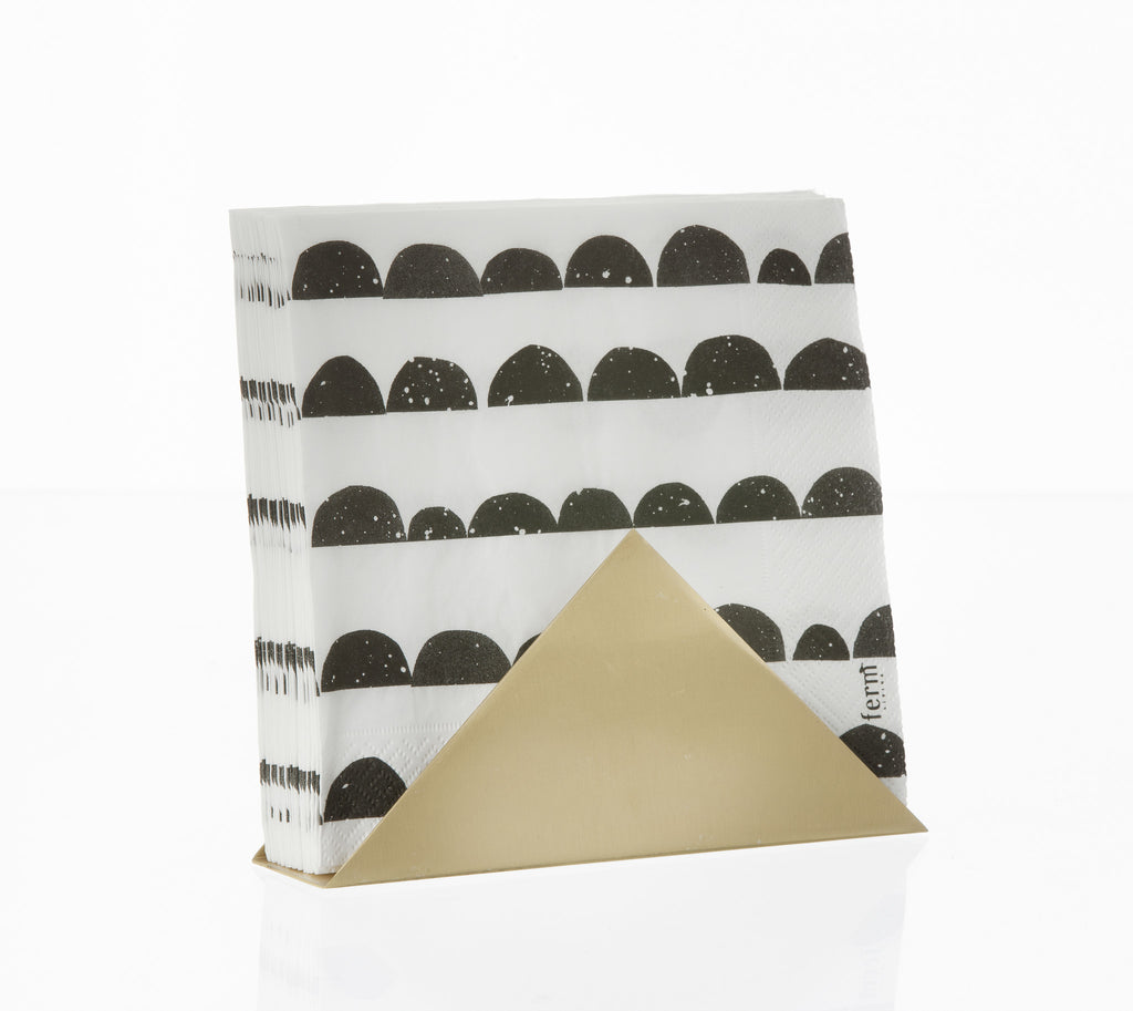 Brass Triangle Stand by Ferm Living