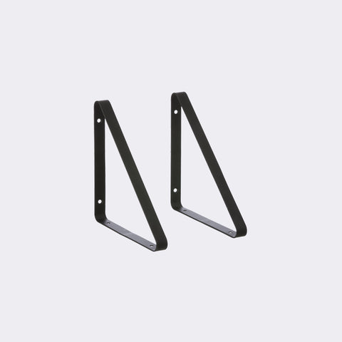 Metal Shelf Hangers in Black design by Ferm Living