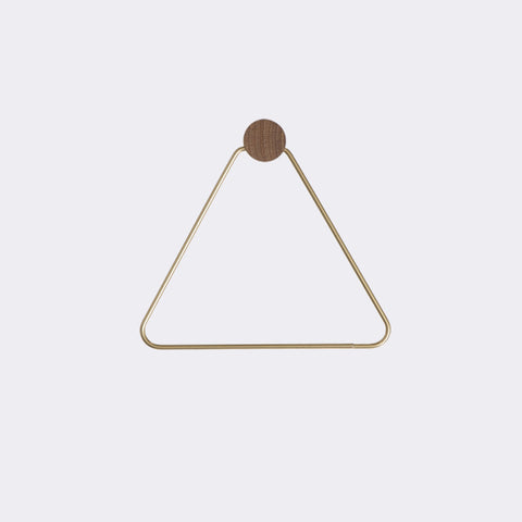 Brass Toilet Paper Holder design by Ferm Living