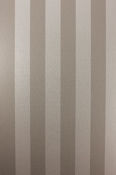 Metallico Stripe Wallpaper In Quick Silver Color