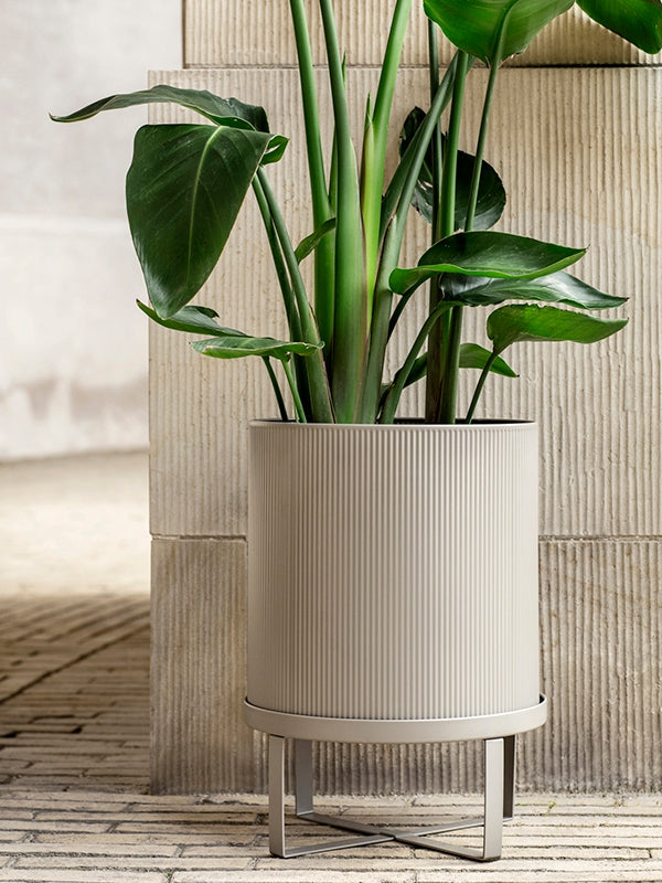 Large Bau Pot in Warm Grey by Ferm Living