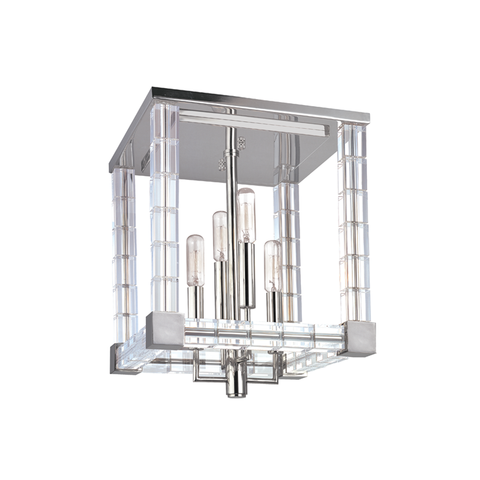 Alpine 4 Light Semi Flush by Hudson Valley Lighting