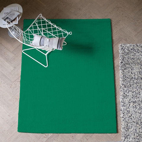 Soho Malachite Rug design by Designers Guild
