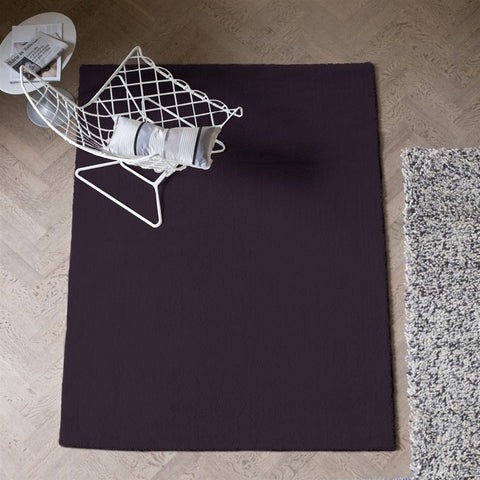 Soho Aubergine Rug design by Designers Guild